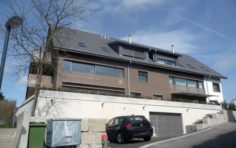 Bauleitung Mehrfamilienhaus | Dachlissen