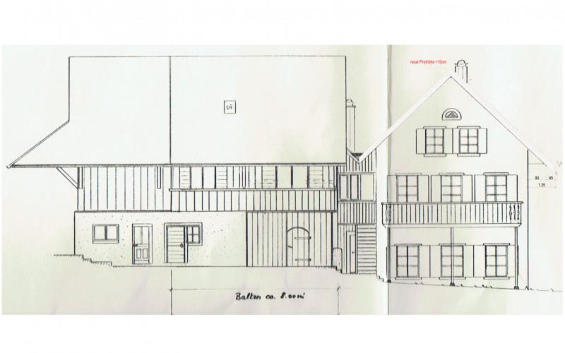 Baueingabe Dachsanierung | Zwillikon